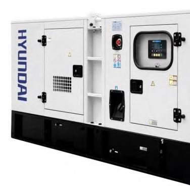 Generador industrial Trifasico Hyundai 82HY42CH 42KVA/38KVA