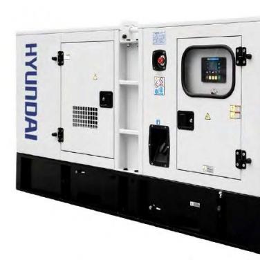 Generador industrial Trifasico Hyundai 82HY63CH 62KVA/56KVA