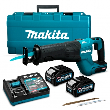 Kit Sierra sable inalámbrica Makita JR001GM201 40V