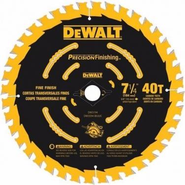 7 1/4 - 40 dientes - Eje 5/8 (16 mm) - PRECISION Corte ultra fino en madera