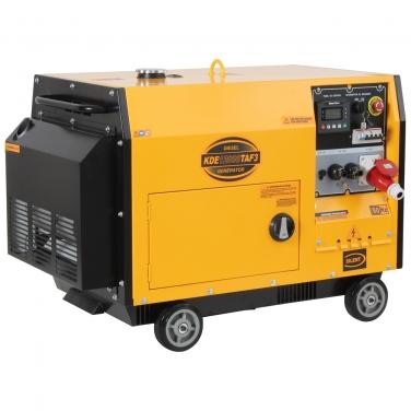 Generador Diesel Trifásico Kipor KDE12000TAF3 9.5 Kva