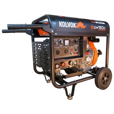 Motosoldador a diesel 180 amp Kolvok