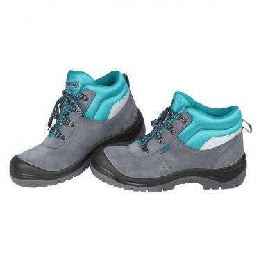 Zapatos de Seguridad con Punta de Acero Gris Verde Total  Nº 41