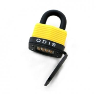 Candado Odis Waterproof 49 49mm Combinación bt ODIS