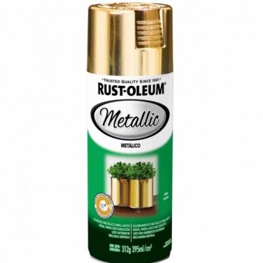 Pintura Anticorrosivas Rust-Oleum Metal Protection Oro Metálico Metálico