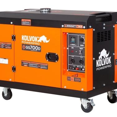 Generador Diesel Monofásico Kolvok GS700D 5KVA
