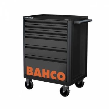 Carro porta Herramientas + Caja Dados S87+7 + Llaves Combinadas Bahco Bahco  6 Gavetas