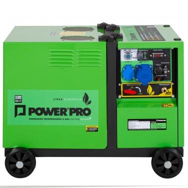 GENERADOR MONO DG5000D 5KVA GLP/GN - POWER PRO