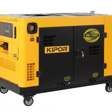 Generador Diesel Trifásico Kipor KDE12STAF3 10.5 KW