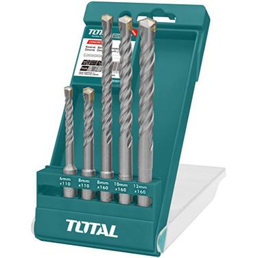 Juego de Brocas SDS Plus Total TAC190501 5 Piezas