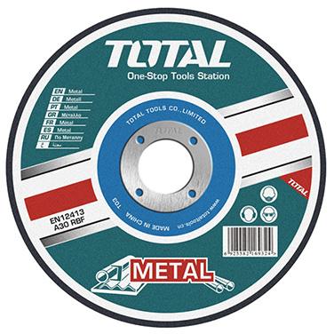 Disco De Corte Metal 7 Pulgadas x 3mm Total TAC2211801