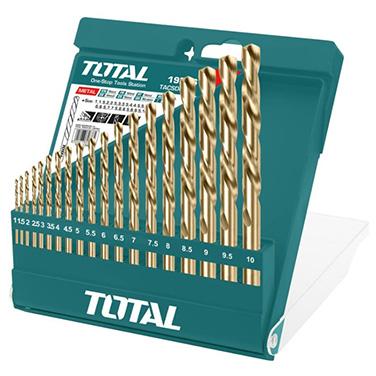 Juego de Brocas Total TACSD0195 19 piezas