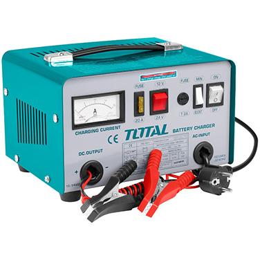 Cargador para Bateria Partida de Auto Total TBC1601 12 - 24 Voltaje de Carga
