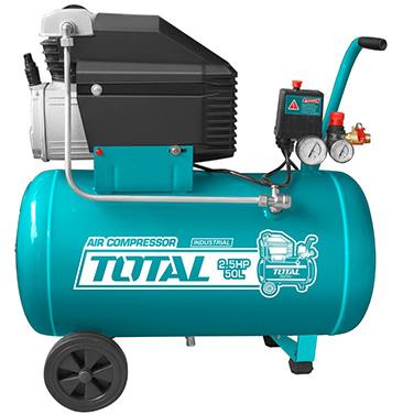 Compresor De Aire 2,5 Hp/50L Total TC125506