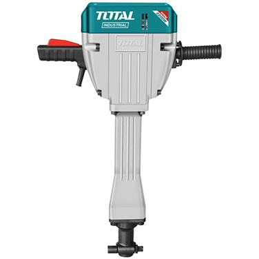 Martillo Demoledor + 2 Cinceles Industriales Total TH220502 2.200 Watt