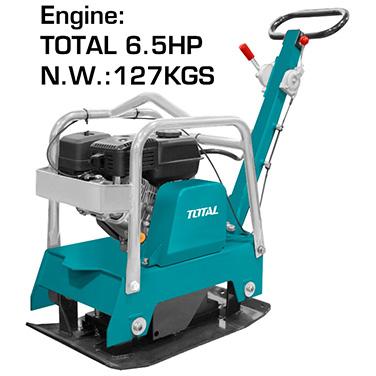 Placa Compactadora a Gasolina Total TP7125-2 6,5 Hp
