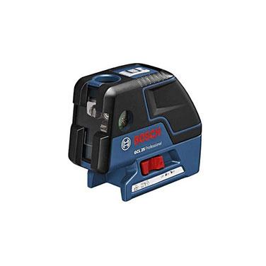 Nivel Láser Bosch GCL25 Fuente de alimentación: 4 x 1.5 Volt LR6 (AA)