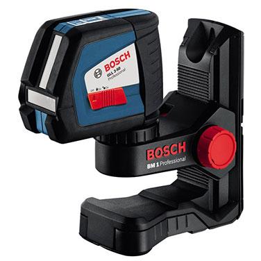 Niveles Laser de Línea Bosch GLL 2-50+BM1 0,45 Kg