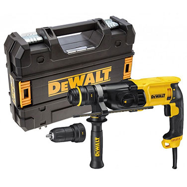 Rotomartillo  SDS Plus c/mandril Dewalt D25134K 800 W