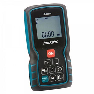 Medidor de Distancia Laser Makita Makita LD080PI con sensor inclinacion