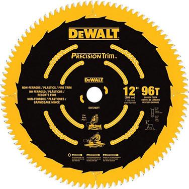 12 - 96 dientes - Eje 1 (25 mm) - PRECISION Corte fino maderas laminadas y aluminio