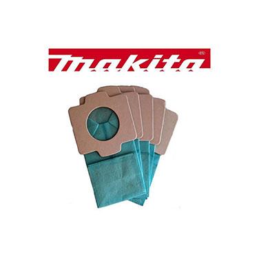 Pack bolsas de papel para aspiradora Makita 194566-1 P/CL102DZ /BCL182Z