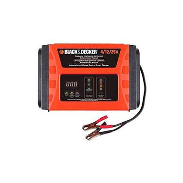 Cargador de Baterías Inteligente de Control Automático y Manual Black&Decker BC25 4 / 12 / 25Amp