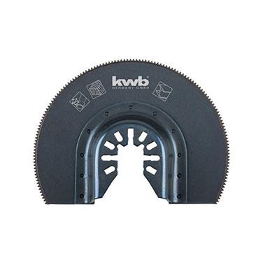 Hoja sierra Semicircular para Multiherramienta KWB