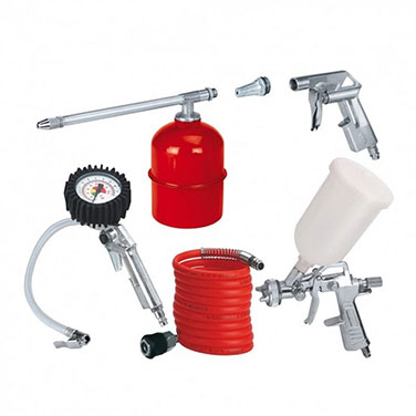 Kit Accesorios para compresor Einhell 4132720 5 Piezas