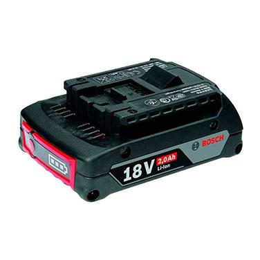 Batería de Ion Litio Bosch GBA 18V 2.0Ah