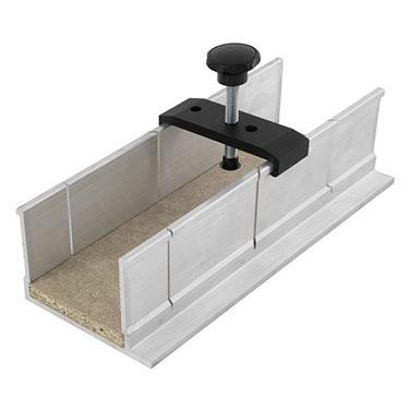 Caja para cortes de inglete WOLFCRAFT 2228000 250x73x60mm