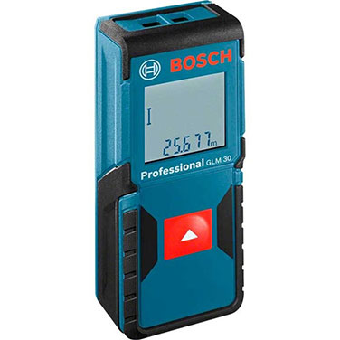 Medidor Distancia Láser Bosch GLM 30 Alimentación: 2 x 1.5-V-LR03 (AAA)