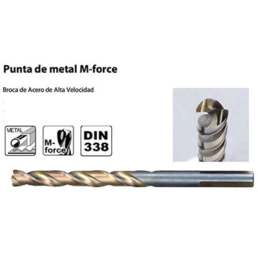 BROCA PUNTO MULTIPROPOSITO HSS M-FORCE 2X49MM   - Makita 2