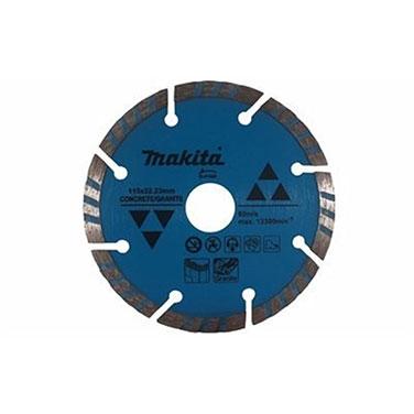 Disco diamantado segmentado húmedo Makita A-80438 115x22.23MM