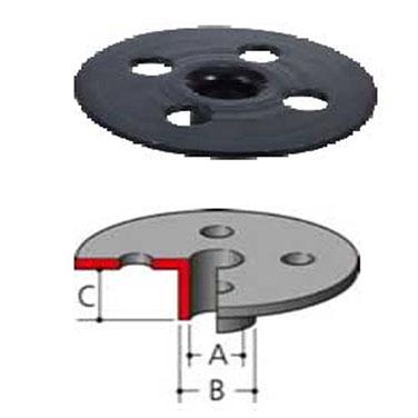 GUÍA COPIADORA 25 mm. - 3606-3620-3612-3612BR - Makita 14 mm. - 3601B