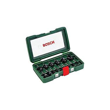 SET Fresas 1/4 ¨ Bosch 2607019468 15 Piezas