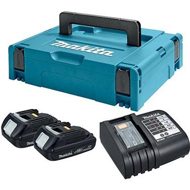 Kit Tipo 1 Baterías + Cargador Makita  18 Volt
