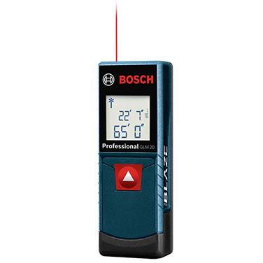 Medidor Distancia Láser Bosch GLM 20 Fuente de alimentación 2 x 1,5 V LR03 (AAA)
