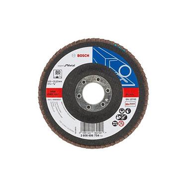 Disco Flap Curvo para Metal Bosch 2608606754 115 mm