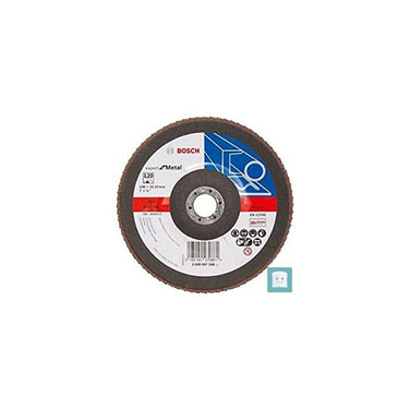 DISCO FLAP CURVO 180MM G120 METAL (EXPERT FOR METAL)