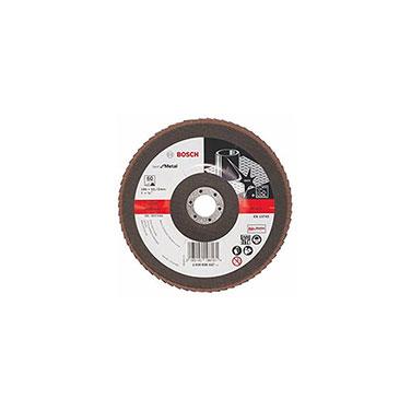Disco Flap Curvo para Metal Bosch 2608606937 180 mm