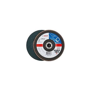 Disco Flap Curvo para Metal Bosch 2608606938 180 mm