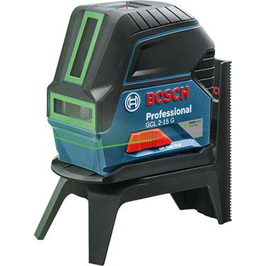 Nivel lasér Bosch GCL 2-15 G Alimentación de tensión3 x 1,5 V LR6 (AA)