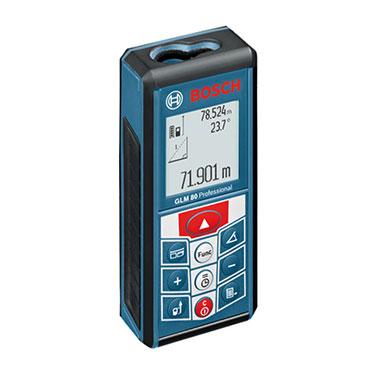 Medidor Distancia Láser Bosch GLM 80 Alimentación de tensión: 1 batería de 3.7 Volt litio