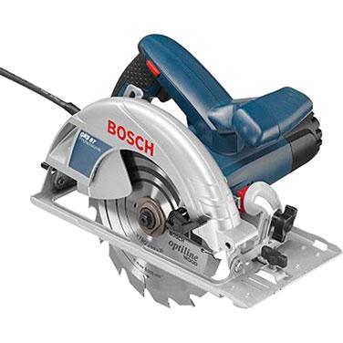 Sierra Circular + Bolso de Transporte Bosch GKS 67-1 1600W