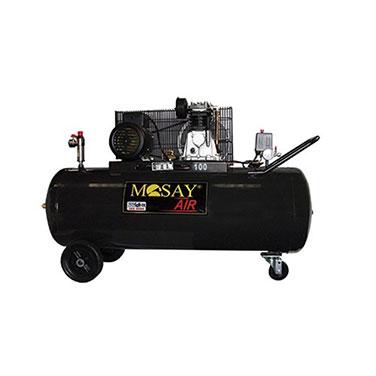 Compresor Polea  Mosay Mosay 1C12171100 3HP 100L