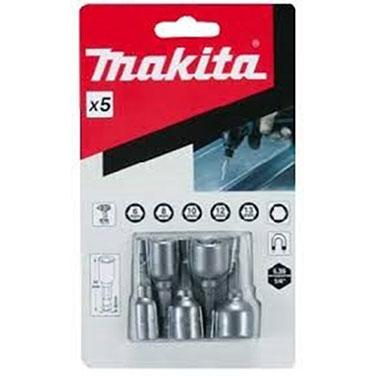 ADAPTADOR MAGNETICO 5pcs (6.8.10.12.13) x50 (MZ) (6.8.10.12.13) - Makita