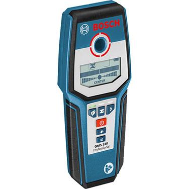Detector de Materiales Bosch GMS 120 Alimentación de tensión: 1 x 9 V 6LR61