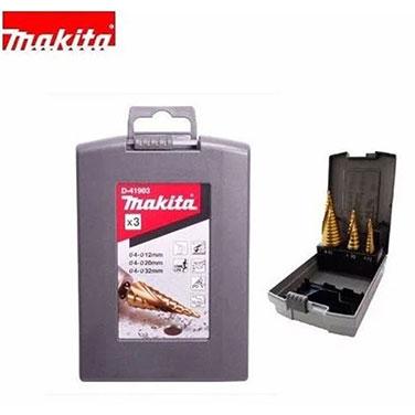 SET BROCA DE PASO ESPIRAL TITANIUM 4-12. 4-20. 4-32 - Makita