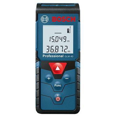 Medidor distancia lasér Bosch GLM 40 Alimentación de tensión: 2 x 1.5 V LR03 (AAA)